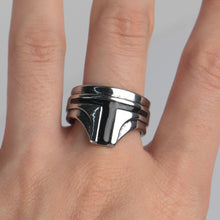 Load image into Gallery viewer, Star Wars The Mandalorian Ring  Yoda Cosplay Costume Props Accessories Alloy Zine Metal