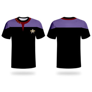 Star trek Uniform Cosplay T shirt