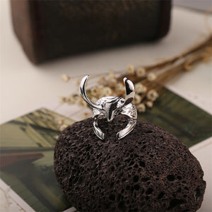Cosplay Thor Loki Helmet Ring