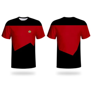 Star trek Cosplay Uniform Short Sleeve