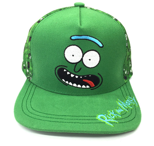 anime Rick and Morty hat Hip hop hat sun hat