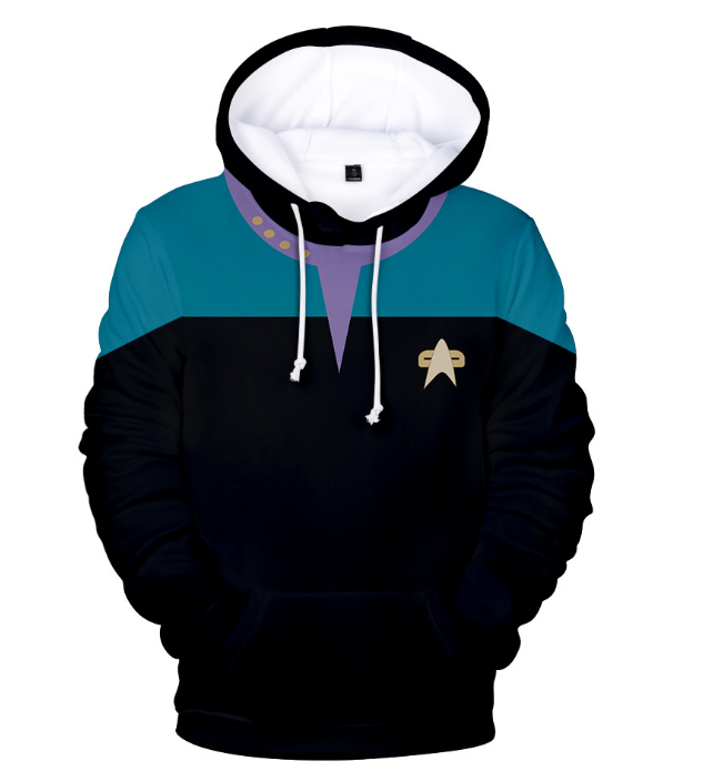 Star Trek 3d Printing Hoodie Cosplay children's wear