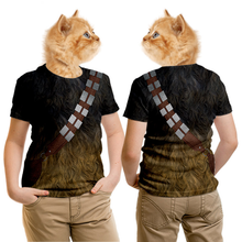 Load image into Gallery viewer, STAR WARS Chewbacca Costumes Cosplay T shirt