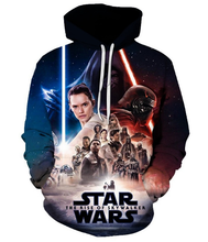 Load image into Gallery viewer, Star Wars Hoodies Cosplay Costume