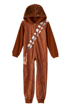Load image into Gallery viewer, Star Wars Chewbacca Costume Cosplay Onesie Pajamas Halloween Party Kids Costumes