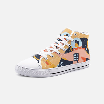 Astronaut Cavalo Canvas Shoes