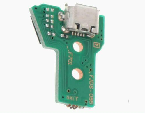 PS4 Controller USB Charging Port Socket latest FJDS 055 050 circuit Board 12 pin - DevineCustomz customized controllers repairs parts