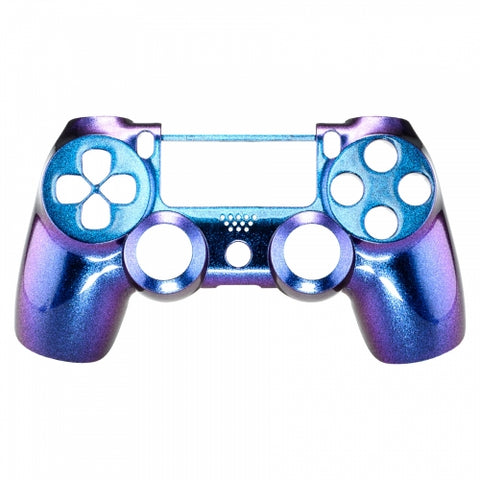 PS4 controller Front Shell -Chameleon two tone Purple & Blue - DevineCustomz customized controllers repairs parts