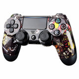 PS4 controller Front Shell - Scary Clown - DevineCustomz customized controllers repairs parts