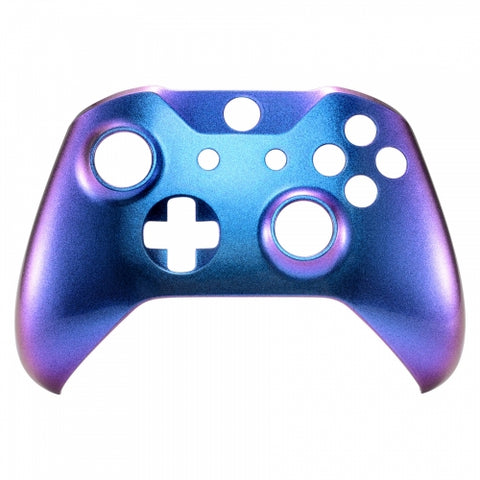 Xbox One Controller Two Colour Chameleon Purple & Blue Front Shell - DevineCustomz
