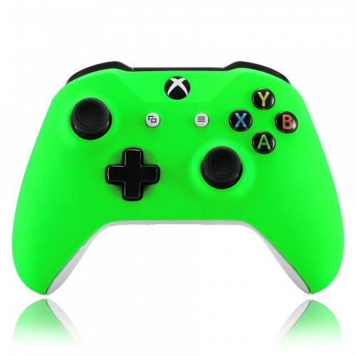 Xbox One Neon Green Wireless Controller Front Shell - DevineCustomz customized controllers repairs parts