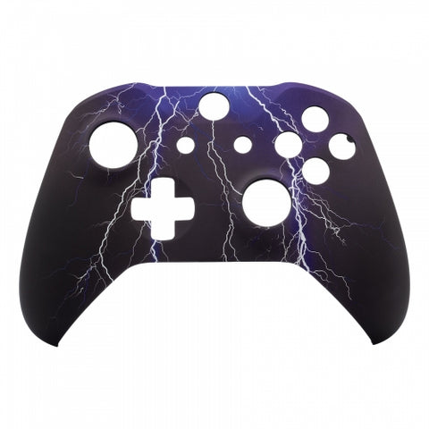 Xbox One Lightning Storm Wireless Controller Front Shell - DevineCustomz