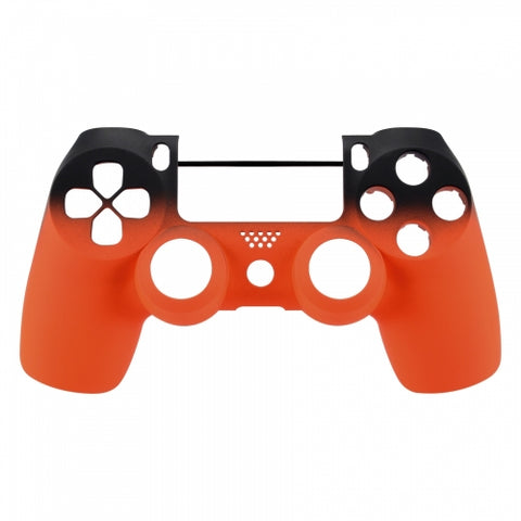 PS4 controller Front Shell- Orange Shadow - DevineCustomz customized controllers repairs parts