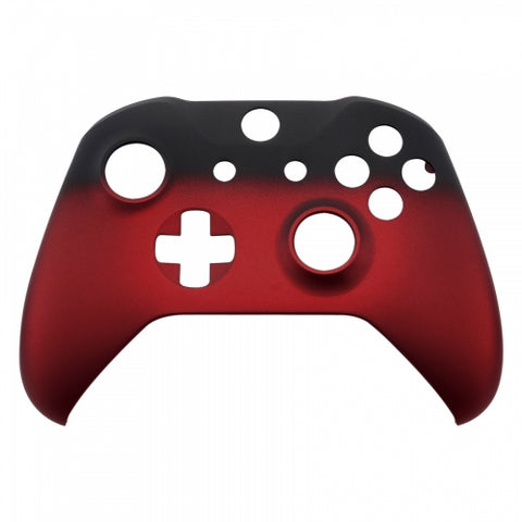 Xbox One Red Fade Wireless Controller Front Shell - DevineCustomz