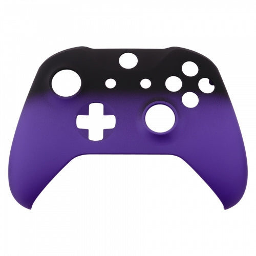 Xbox One Purple Fade Wireless Controller Front Shell - DevineCustomz customized controllers repairs parts