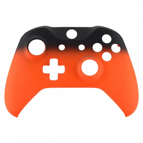 Xbox One Orange Fade Wireless Controller Front Shell - DevineCustomz customized controllers repairs parts