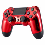 PS4 controller - Chrome Red - DevineCustomz customized controllers repairs parts