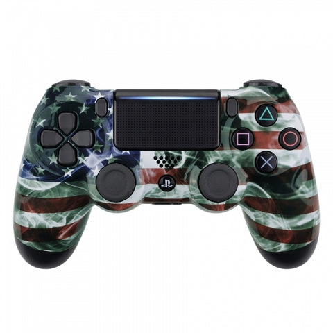 Customised PS4 controller Version 2 US Flag - DevineCustomz customized controllers repairs parts
