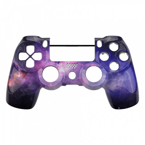 PS4 controller Front Shell - Purple Galaxy - DevineCustomz customized controllers repairs parts