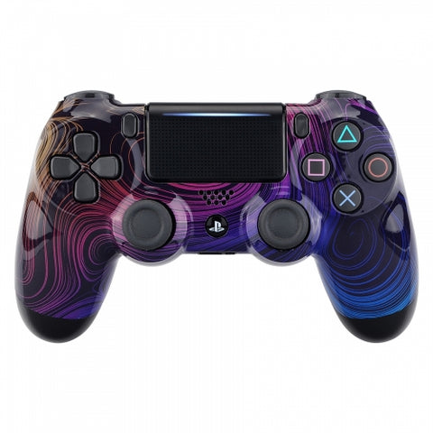Customised PS4 controller Version 2 Rainbows Swirls - DevineCustomz