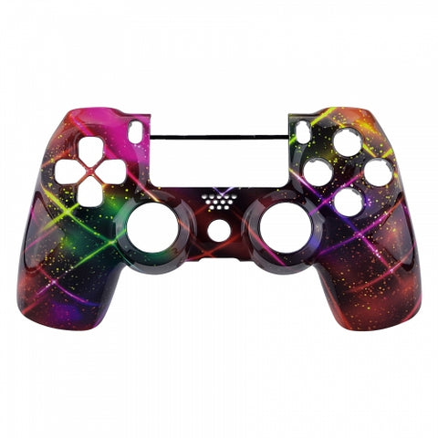 PS4 Controller Front Shell - Neon Space - DevineCustomz customized controllers repairs parts