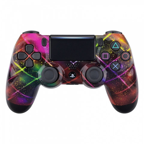 Customised PS4 controller Version 2 Neon Space - DevineCustomz customized controllers repairs parts
