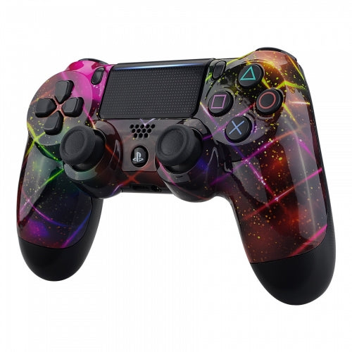PS4 controller - Neon Space - DevineCustomz customized controllers repairs parts