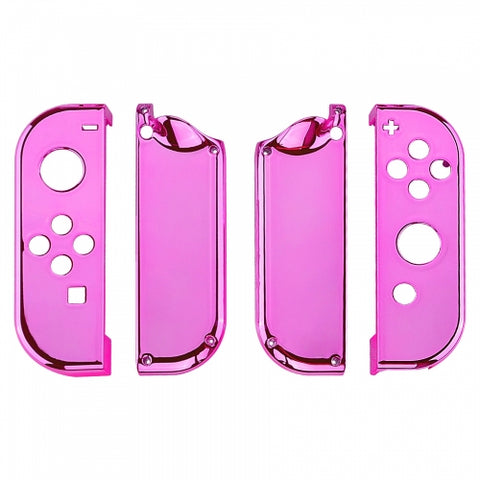 Nintendo Switch Joy-Con Chrome Pink Shell - DevineCustomz