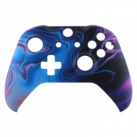 Xbox One Dark Matter Wireless Controller Front Shell - DevineCustomz customized controllers repairs parts