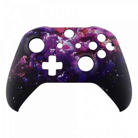 Xbox One Purple Magma Wireless Controller Front Shell - DevineCustomz customized controllers repairs parts