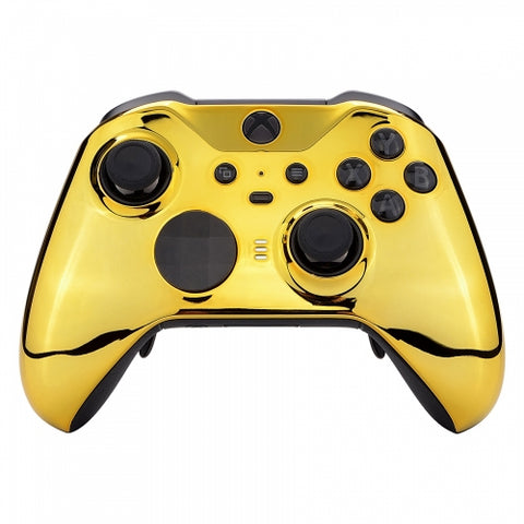 Xbox One Elite Series 2 Chrome Gold Wireless Controller Series X / S Compatible - DevineCustomz