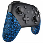 Nintendo Switch Pro Controller - Blue Splatter - DevineCustomz customized controllers repairs parts