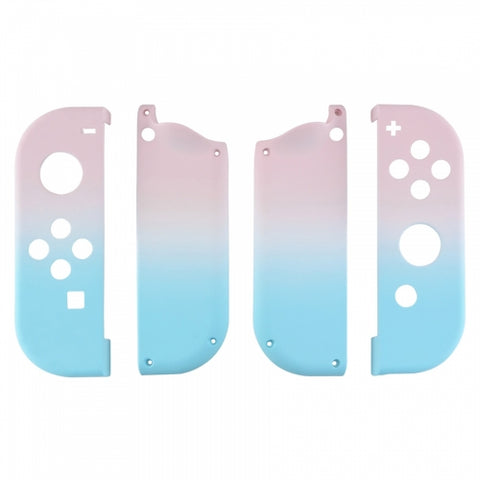 Nintendo Switch Joy-Con Blue & Pink Fade Shell - DevineCustomz customized controllers repairs parts