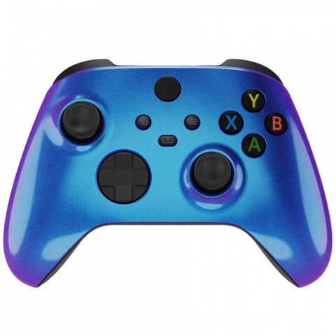 Customised Xbox One Series X / S Chameleon Blue & Purple Wireless Controller - DevineCustomz