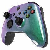 Customised Xbox One Series X / S Chameleon Green & Purple Front Shell-Controllers & Attachments-DevineCustomz