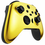 Customised Xbox One Series X / S Chrome Gold Wireless Controller - DevineCustomz