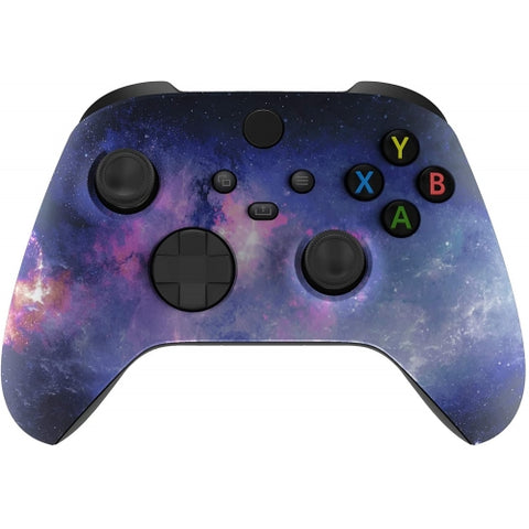 Customised Xbox One Series X / S Purple Galaxy Wireless Controller - DevineCustomz
