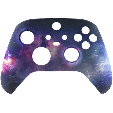 Customised Xbox One Series X / S Purple Galaxy Front Shell-Controllers & Attachments-DevineCustomz