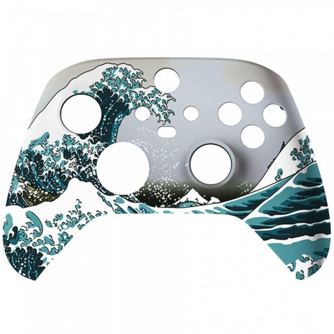 Customised Xbox One Series X / S Great Sea Wave Front Shell - DevineCustomz