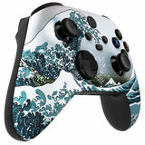 Customised Xbox One Series X / S Chameleon Great Wave Sea Wireless Controller - DevineCustomz