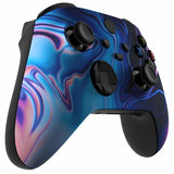 Customised Xbox One Series X / S Purple Chaos Front Shell - DevineCustomz