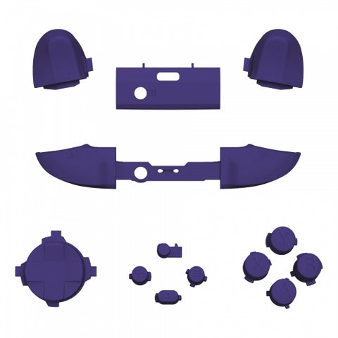 Xbox One Series S / X Purple Button Set - DevineCustomz customized controllers repairs parts