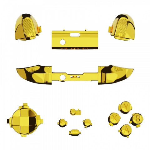 Xbox One Series S / X Chrome Gold Button Set-Controllers & Attachments-DevineCustomz