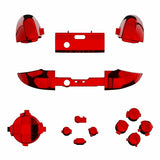 Xbox One Series S / X Chrome Red Button Set-Controllers & Attachments-DevineCustomz