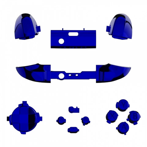 Xbox One Series S / X Chrome Blue Button Set-Controllers & Attachments-DevineCustomz