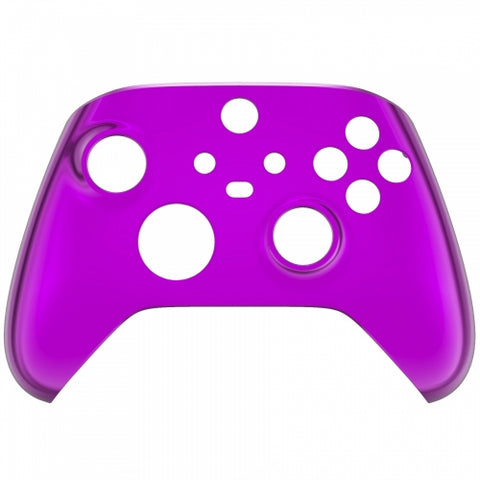 Customised Xbox One Series X / S Chrome Purple Front Shell