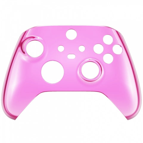 Customised Xbox One Series X / S Chrome Pink Front Shell