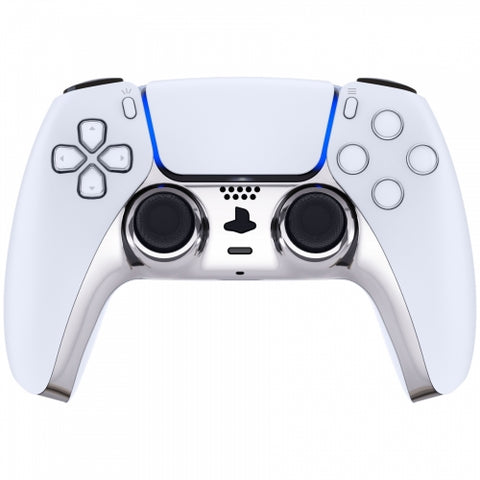 PS5 Glossy Chrome Silver Controller