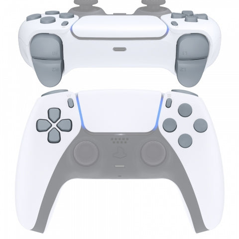 PS5 Next Gen Controller Matt Grey Full Buttons Set