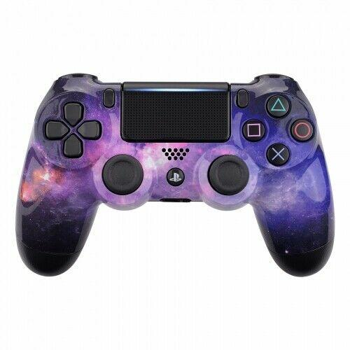 PS4 controller - Purple Galaxy - DevineCustomz customized controllers repairs parts
